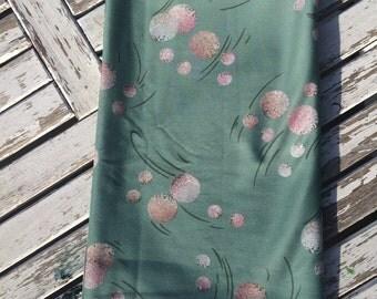 Vintage Teal Fabric