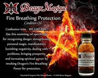 Dragon Medicine - Fire Breathing Protection ~ Conjure Oil, hoodoo, rootwork, road opener oil, rootwork oils
