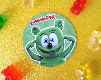 Gummibär (The Gummy Bear) Silly Sticker ~ Crazy Funny OMG