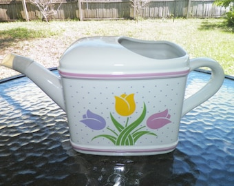 Tulip Watering Can from Telaflora