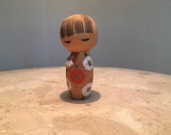 Vintage wooden Kokeshi doll