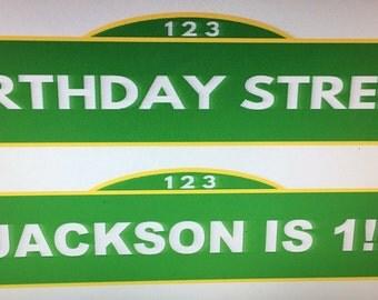 Sesame Street , street sign