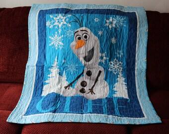 Frozen Quilt -- Olaf Quilt
