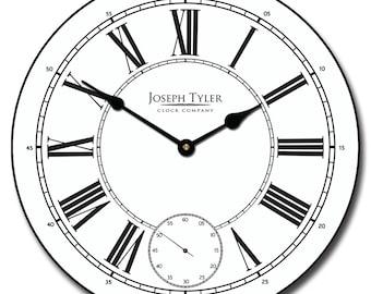Classy White Wall Clock
