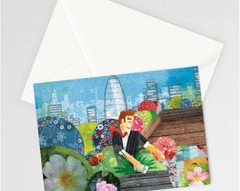 Urban Gardening a6 card