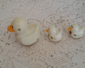 Wind up Mother duck and Babies, Working wind up duck with two babies,Collectible wind up ducks