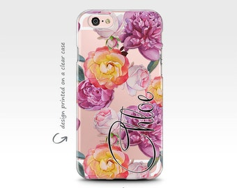 iPhone 7 Case, Galaxy S8 Case, iPhone X Case, iPhone 6 Case, iPhone 8 Plus Case, Rubber Case, Samsung Galaxy Case, Monogram