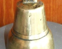 Russian bell Troshin. Early 20th century. Original - Antique . Brass casting, voiced . Use for home decor or collection.