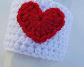 Cup Cozy, Heart Cup Cozy, Love Cup Cozy, Heart Cozy, Love Cozy, Cozy, Coffee Sleeve, Heart Coffee Sleeve, Love Coffee Sleeve, Valentine Cozy
