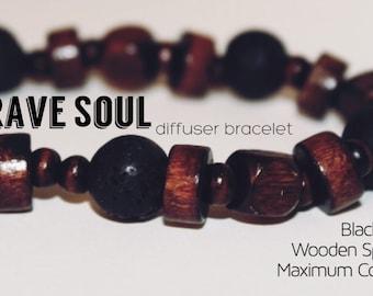 Brave Soul diffuser bracelet