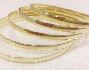 Gold Filled Bangles, 14kgf 3.5 mm bangle bracelet,14kt gold filled bangles,gold bangles,14kt gold filled bangle bracelet,bangle bracelets