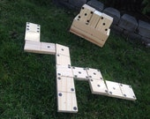 Yard Dominoes by Tumbling Timbers - Great for weddings, camping or any event!