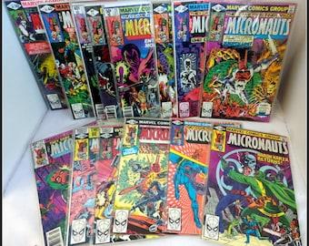 Vintage Lot of Marvel Comics