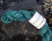 The Mermaids' Lagoon (mini skein) - 200 London, 109 yards, 25 g