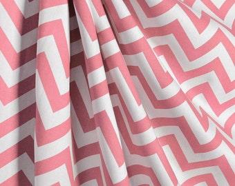 rose pink curtains