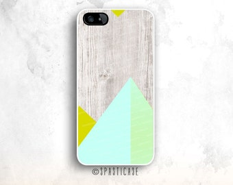 Wood Print iPhone 6S Case, Geometric iPhone 5S, iPhone 5 Case, iPhone SE Case, iPhone 6S Plus Case, Wood iPhone 6 Case, iPhone 5S Case, 5C