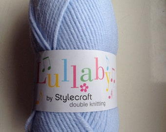 Stylecraft Lullaby DK yarn - Cloud blue