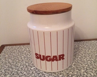 Hornsea ceramic sugar jar