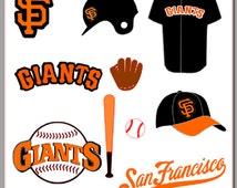 SF Giants SVG