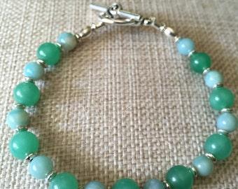 Jade and Amazonite
