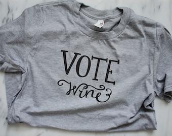 VOTE Wine Tee