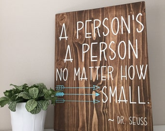 A persons a person no matter small dr seuss