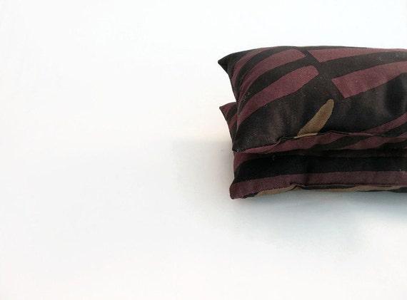 Small Brown Decorative Pillows : Marimekko Brown Lumbar Pillow Mini Pillow Small Decorative
