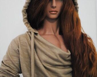 ID72 cowl neck hoodie