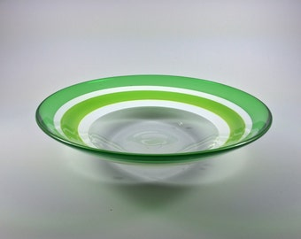 Green Multi-Incalmo Glass Bowl