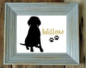 Choose Your Breed! 8x10 White Statement Art Prints - Pet Lovers Gifts