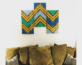 Wood Pattern Wall Art