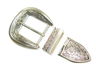 "1.5"" (38 mm) Large Bloom Buckle Set"