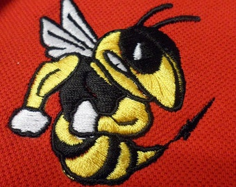hornet - Machine Embroidery Design tested