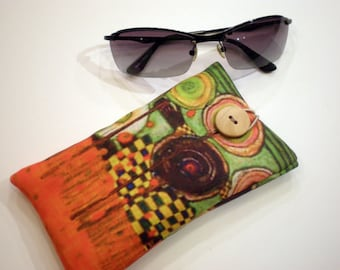 Sunglasses case, Eyeglasses case, Soft sunglasses case, Case for sunglasses, Quilted eyeglass case