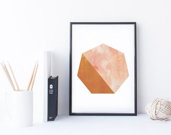 Geometric Downloadable Art Print