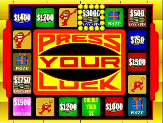Powerpoint Game Template Plays Like Press Your Luck