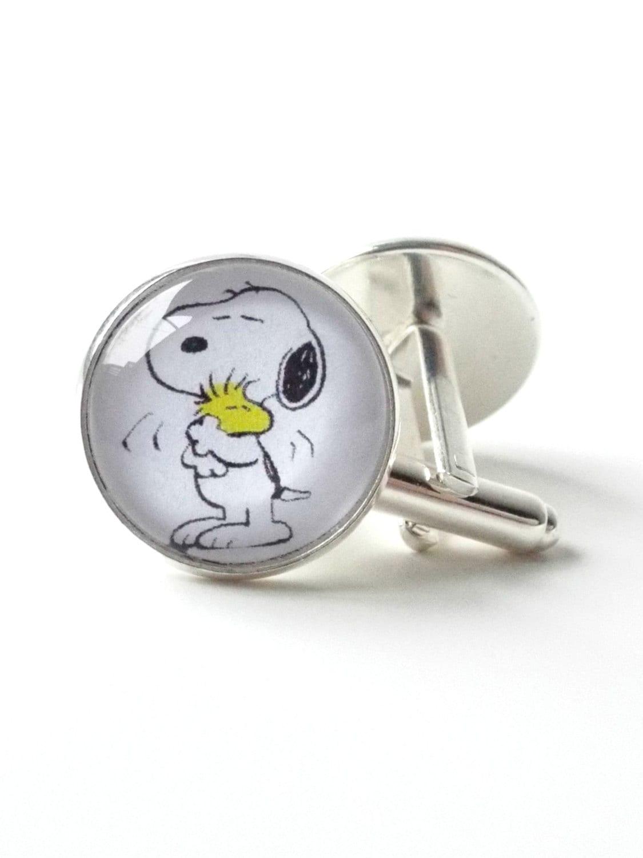 snoopy cufflinks silver cufflinks s jewelry peanuts