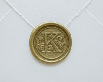 K Letter Seal
