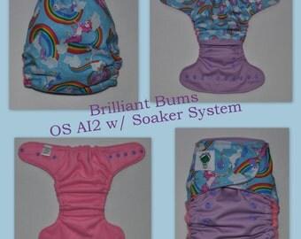 Fantasy AI2 Cloth Diaper - OS