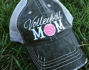 Hat {Volleyball mom} 4.95 US Ship. 10 Worldwide shiip.