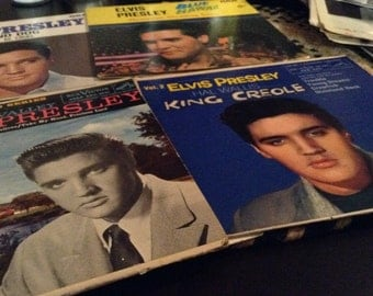 Elvis Presley 45's