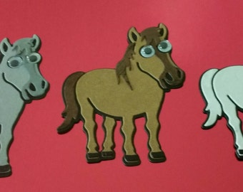 Elizabeth Craft Designs Cocoa the Horse Die Cuts