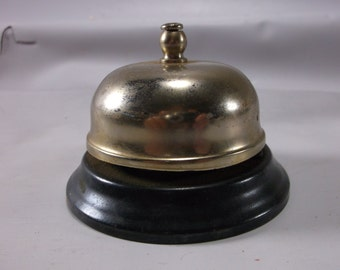 Desk Bell Vintage Chrome Service Desk Bell.epsteam