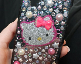 LG LS970 Optimus G Pink Hello Kitty Decoden Phone Case