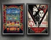 Superhero Two-Pack - Hellboy 2 / V For Vendetta