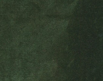 "Emerald Hand-dyed Velvet - Fat Eighth 17"" x 10"""