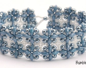 Hashtag Bracelet, Necklace and Earring Collection - A Beadweaving Tutorial