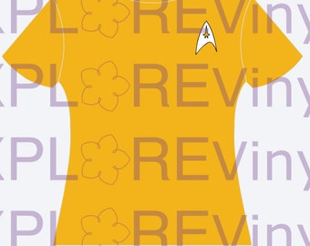 Star Trek Uniform T-Shirt