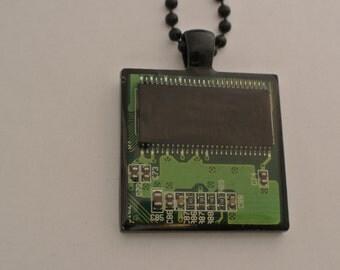 Circuit board jewelry.