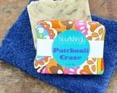 Patchouli Soap, Hippie Soap, Patchouli Essential Oil, Organic Soap, Eco Gift, Hemp Oil, Hippy Soap, Handmade Hot Process Soap, Vegan Gift